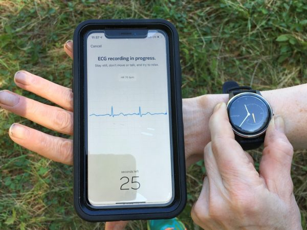 Best Analog Watch Dupe- Withings Move ECG